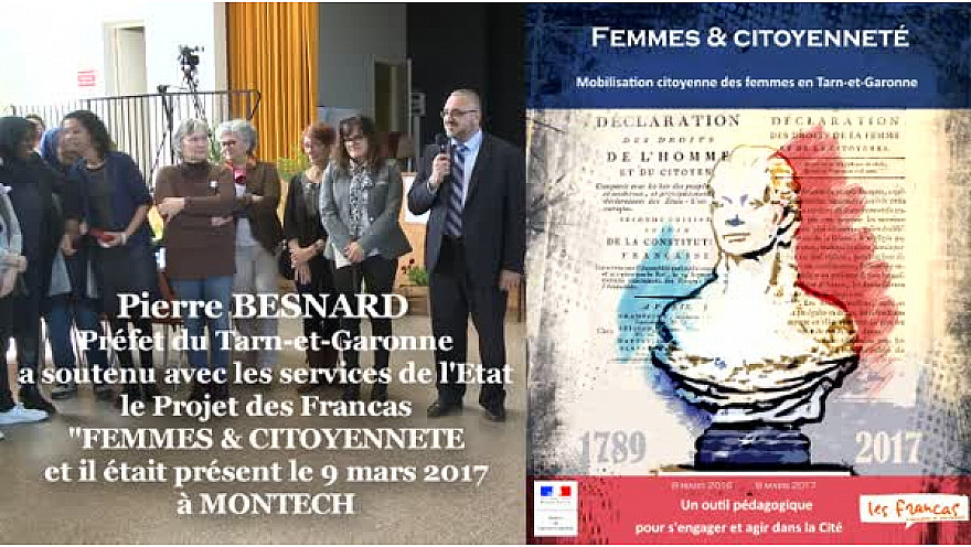 Pierre BESNARD Préfet du Tarn-et-Garonne à la Journée